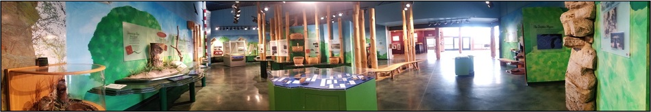 View of the Current Exhibit