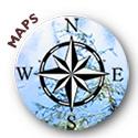 Cartoon of an compass